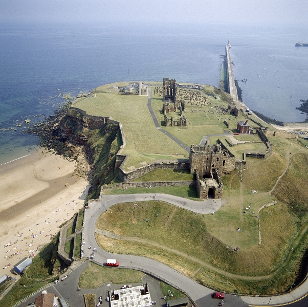 Tynemouth Priory Pier And Haven Top Tourist