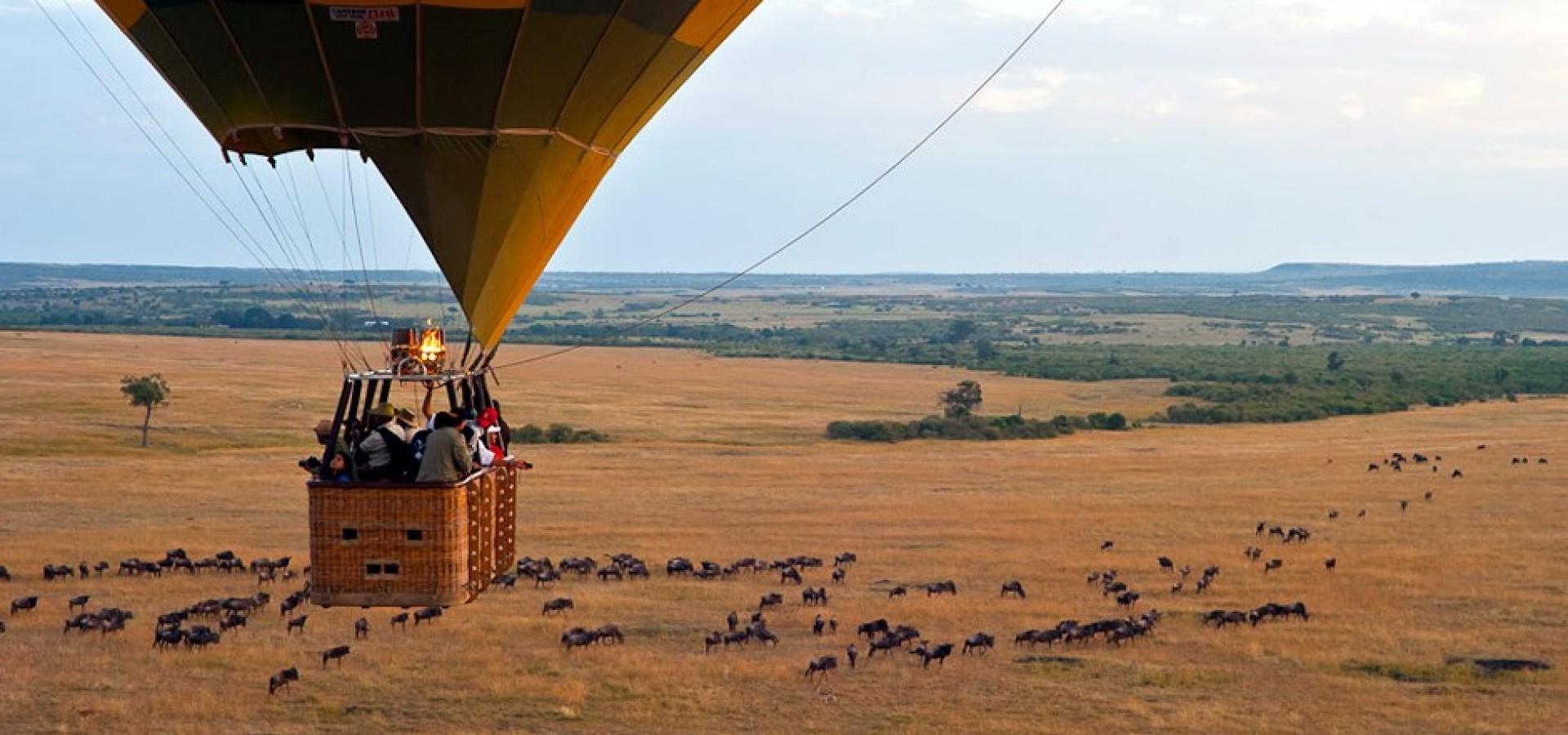 Hot Air Balloon Safaris Top Tourist