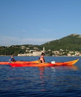 croatia kayak elaphite island