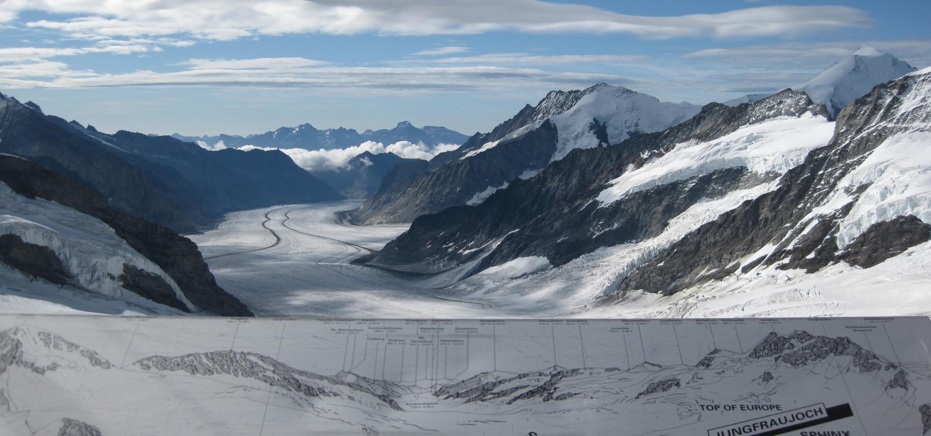 Jungfraujoch Top Of Europe Top Tourist