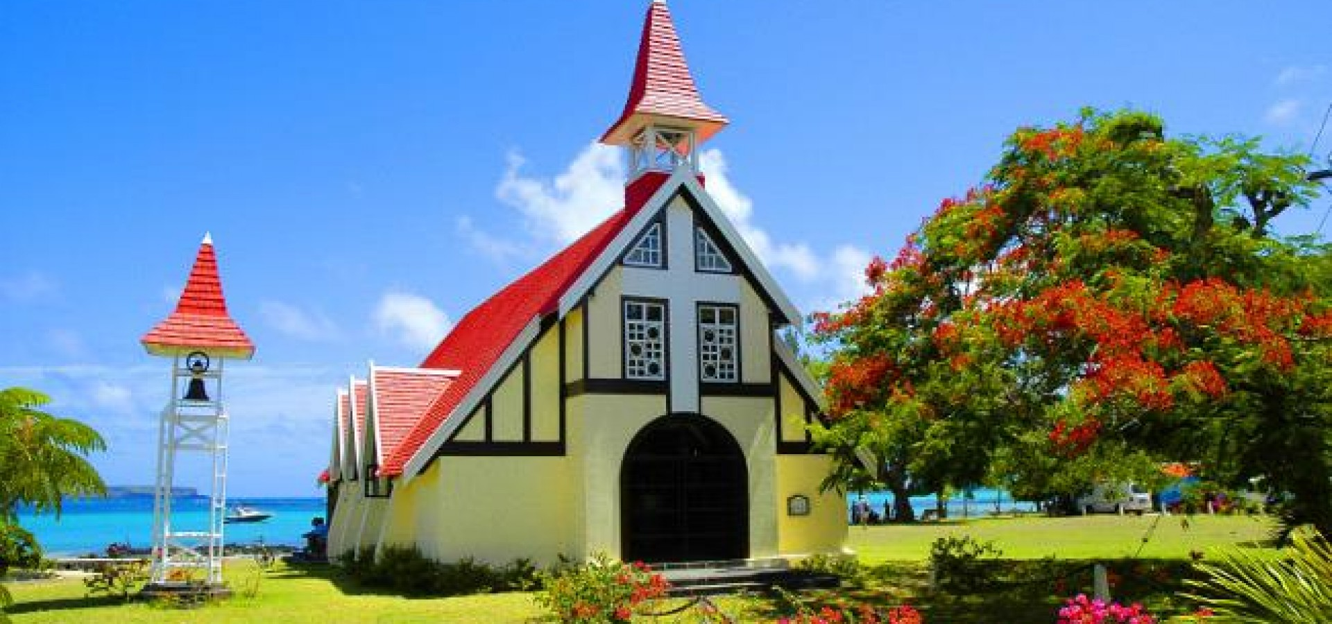 Red Roof Church Top Tourist