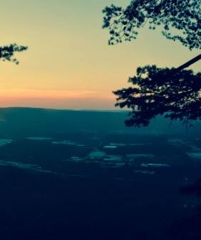 Sunset at Lookout Mountain