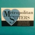 Metropolitan Sitters